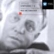 """Cornelia Kallisch/Bamberger Symphoniker/Ingo Metzmacher Sinfonien Nr.1-3, Sinfonie Nr.1 """"Versuch eines Requiems"""" für Altstimme & Orchester (1935/36, rev. 1954/55) nach Worten von Walt Whitman: I. Introduktion: Elend - Ich Sitze Und Schaue Aus"""