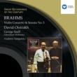 David Oistrakh Brahms : Violin Concerto in D/Violin Sonata No.3 in D minor
