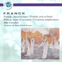 Aldo Ciccolini Prélude, fugue & variation en si mineur Op.18 : III. Variation
