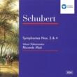 Riccardo Muti/Wiener Philharmoniker Schubert : Symphonies 2 & 4