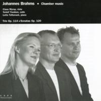 Claus Myrup, Torleif Thedéen og Lotte Toftemark Brahms: Trio in A minor, Op. 114, I: Allegro