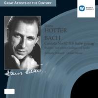 Hans Hotter/Philharmonia Orchestra/Anthony Bernard/Geraint Jones/Sidney Sutcliffe Kantate: 'Ich habe genug', BWV82 (2004 Remastered Version): Recit: Ich habe genug