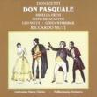 Gösta Winbergh/Sesto Bruscantini/Leo Nucci/Mirella Freni/Philharmonia Orchestra/Riccardo Muti Don Pasquale, Act II Quinta Scena: Pria di partir, signore (Ernesto/Pasquale/Malatesta/Norina)