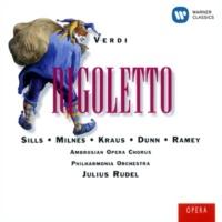"""Julius Rudel Rigoletto, Act 3: """"Della vendetta alfin giunge l'istante!"""" (Rigoletto, Sparafucile, Duca)"""