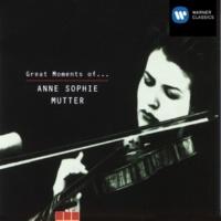 Anne-Sophie Mutter Violin Concerto No. 1 in A Minor, BWV 1041: II. Andante