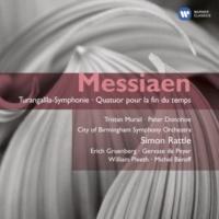 Peter Donohoe/Tristan Murail/City of Birmingham Symphony Orchestra/Sir Simon Rattle Turangalîla-Symphonie: III. Turangalîla I (Presque lent, rêveur)