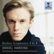 Daniel Harding Brahms - Symphonies Nos. 3 & 4