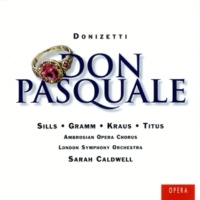 Alfredo Kraus/Beverly Sills/Alan Titus/London Symphony Orchestra/Sarah Caldwell Don Pasquale (1996 Remastered Version), ATTO SECONDO Quarta Scena: Indietro, indietro, mascalzoni (Ernesto/Norina/Malatesta)