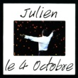 Julien Clerc Le 4 octobre