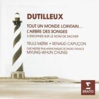 Truls Mørk/Orchestre Philharmonique de Radio France/Myung-Whun Chung Cello Concerto (Tout un monde lointain): II. Regard (Extrêmement calme)