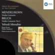 Yehudi Menuhin/Philharmonia Orchestra/Efrem Kurtz Concerto for Violin and Orchestra in E minor Op. 64 (1997 Remastered Version): II. Andante