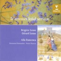 Gérard Lesne/Ensemble Alla Francesca De ce que foutl pensé souvent remaynt (ballade)