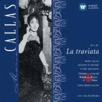 """Luisa Mandelli/Maria Callas/Giuseppe di Stefano/Orchestra del Teatro alla Scala, Milano/Carlo Maria Giulini La traviata, Act 3 Scene 6: """"Parigi, o cara, noi lasceremo"""" (Alfredo, Violetta)"""