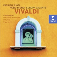 Fabio Biondi/Europa Galante/Patrizia Ciofi In furore, Motet for Soprano, 2 Violins, Viola & Bass, RV 626: IV Alleluia [Allegro]