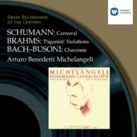 Arturo Benedetti Michelangeli Variations on a theme by Paganini Op.35 (1992 Remastered Version): Theme