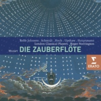 "Sir Roger Norrington/London Classical Players/Anthony Rolfe Johnson/Andreas Schmidt/Dawn Upshaw/Guy de Mey/Beverley Hoch/Olaf Bär/Catherine Denley/Catherine Pierard/Cornelius Hauptmann/Nancy Argenta/E Die Zauberflöte, K. 620, Act 1 Scene 6: Dialog, ""Ist's denn auch Wirklichkeit, was ich sah?"" (Tamino)"