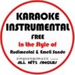 All Hits Singles Free (In the Style of Rudimental & Emeli Sande) [Karaoke Instrumental Version]