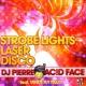 DJ Pierre Strobe Lights, Laser, Disco