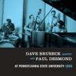 Dave Brubeck Dave Brubeck Quartet (feat. Paul Desmond) At Pennsylvania State University 1955