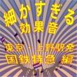 効果音 細かすぎる効果音 東京・上野駅発国鉄特急編(1980年録音)