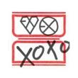 EXO-M The 1st Album 'XOXO' (HUG Ver.)