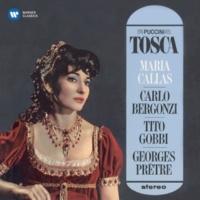 """Tito Gobbi, Maria Callas, Orchestre de la Société des Concerts du Conservatoire, Georges Prêtre Tosca, Act 2: """"E qual via scegliete?"""" (Scarpia, Tosca)"""