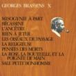 Georges Brassens Misogynie à part