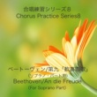 石山正明 合唱練習シリーズ8 ベートーヴェン/第九「歓喜の歌」 (ソプラノパート用)