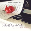 David Osborne This One's For You: A Piano Tribute To Barry Manilow