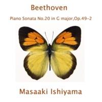 石山正明 ピアノ・ソナタ第20番 第2楽章: Tempo di Menuetto