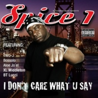 Spice 1 I Don't Care What U Say (Two-J Remix Instumental)