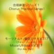 石山正明 合唱練習シリーズ1 モーツァルト/戴冠式ミサ K. 317 (アルトパート用)