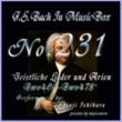 石原眞治 バッハ・イン・オルゴール231 /宗教的歌曲とアリア BWV469からBWV478