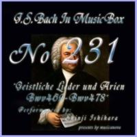 石原眞治 来たれ、甘き死よ BWV 478 (オルゴール)