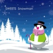 SWEETS Snowman
