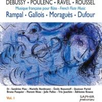 Michel Moraguès&Emile Naoumoff Sonate pour flûte et piano, FP 164: III.  Presto giocoso