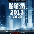 Metro Karaoke Karaoke Songlist: 2013, Vol .20