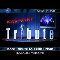 Karaoke Tribute Where the Blacktop Ends