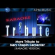 Karaoke Tribute More Tribute to Mary Chapin Carpenter (Karaoke Version)