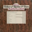 Various Artists The History Of Rhythm & Blues Vol.2: The Golden Years 1953-1955