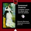 Pinuccia Giarmanà&Alessandro Lucchetti Emmanuel Chabrier: Oeuvre complète pour deux pianos (Complete Works for two Pianos)