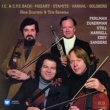 Itzhak Perlman/Pinchas Zukerman/Timothy Eddy/Samuel Sanders Trio Sonata in G Major, Wq. 157, H. 583: I. Allegretto