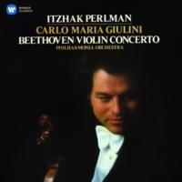 Itzhak Perlman/Philharmonia Orchestra /Carlo Maria Giulini Violin Concerto in D Major, Op. 61: II. Larghetto -