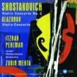 Itzhak Perlman Shostakovich: Violin Concerto No. 1 - Glazunov: Violin Concerto