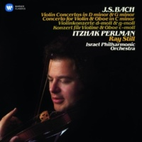 Itzhak Perlman Concerto for Violin and Oboe in C Minor (after Harpsichord Concerto, BWV 1060): III. Allegro