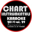 Karaoke All Hit Wonders Karaoke Chart Instrumentals 2014, Vol. 29