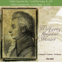 Leningrad Chamber Orchestra&Sergey Stadler Violin Concerto No. 3 in G Major, K. 216: III. Rondeau