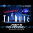 Karaoke Tribute A Tribute to Stevie Wonder (Vol. 1) [Karaoke Version]