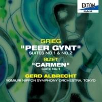 ゲルト・アルブレヒト/読売日本交響楽団 グリーグ:「ペール・ギュント」 第 1組曲、第 2組曲
