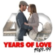 The 60's Pop Band,60's 70's 80's 90's Hits&70s Love Songs 40 Years of Love: 1960-99